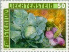 Sello: Crops (Liechtenstein) (Crops) Mi:LI 904,Yt:LI 845,Zum:LI 844