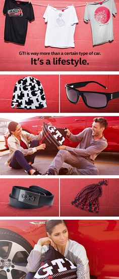 The Volkswagen GTI collection lets fans of the GTI lifestyle show and wear their passion. Every item - from stylish sunglasses to branded leather belts - of the new collection expresses the sporty, dynamic attitude associated with the Volkswagen GTI range. (Shipping within Germany, international purchase via Volkswagen dealership.)