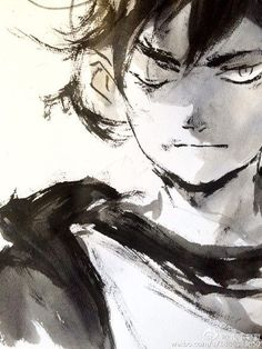 zao dao Brush Drawing, Manga Drawing, Amazing Drawings, Amazing Art, Sketchbook Inspiration, Ink Illustrations, Character Design References, Sketch Design, Pretty Art