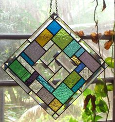 STAINED GLASS WINDOW PANEL QUILT DESIGN BY SOUTHERN STAR - HANGS TWO WAYS! | eBay