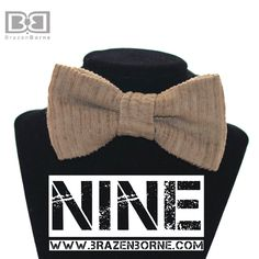9 | Strike a Cord with this corduroy pre-tied bow tie!! Guaranteed to be a hit!!