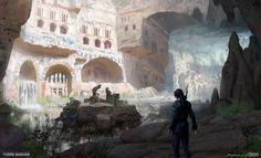 ArtStation - Underground Necropolis - Rise of the Tomb Raider Concept Art, Yohann Schepacz OXAN STUDIO