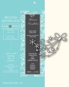 Memory Box Die BELOVED SNOWFLAKES 99044