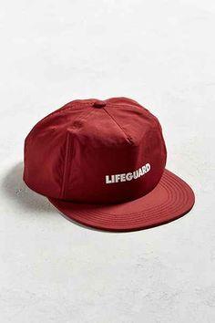 77bfad1f4a9 Barney Cools Lifeguard Nylon Baseball Hat Men s Hats