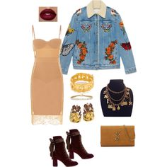 savage ruthless by anelanaiara on Polyvore featuring polyvore, fashion, style, Gucci, Chloé, Yves Saint Laurent, Chanel, Magerit and clothing