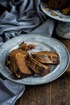 Gingerbread Bundt Bake with Toffee Sauce   Supergolden Bakes