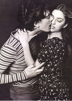 H&M Campaign 90s  Photographer: Bruce Weber Stylist: Joe McKenna Models: Donovan Leitch Jr. and Sofia Coppola