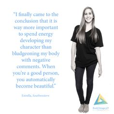 So true!!! I think I should focus more on being inwardly beautiful!!