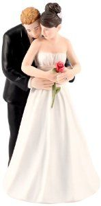 Yes to the Rose Bride and Groom Couple Figurine from Weddingstar Inc.