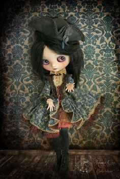 In the victorian room por Rebeca Cano ~ Cookie dolls en Flickr