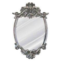 Lille Mirror Hickory Manor House Arched & Crowned Mirrors Home Decor