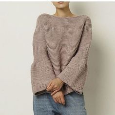 42 Ideas Knitting Inspiration Fashion Shape For 2019 Knitting Designs, Knitting Patterns, Crochet Patterns, Knitwear Fashion, Knit Fashion, Knitted Poncho, Mom Outfits, Clothing Patterns, Baby Knitting