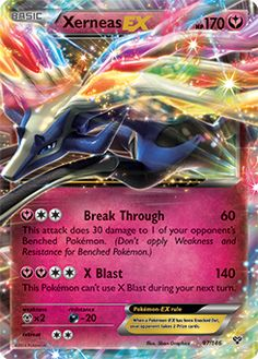 Xerneas EX pokemon card