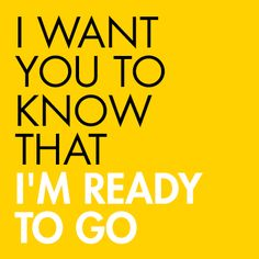 I'm ready to go! #justawaycom #travel #quotes #reisen #urlaub