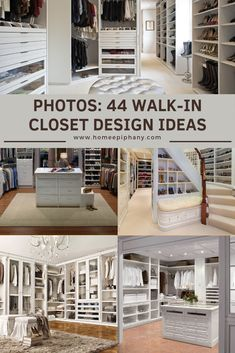 These 44 walk in closets will leave you in awe (photo gallery) Walk In Closet Design, Closet Designs, Diy Ideas, Decor Ideas, Other Rooms, Luxurious Bedrooms, Mudroom, Home Decor Inspiration, Dream Homes