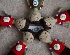 Sheldon Doll *With Pattern* - CROCHET.