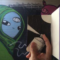 SketchBlog — Parceria - este foi um trabalho em parceria com...