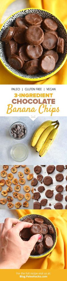 Get your snacking fingers ready for these irresistible Chocolate Banana Chips! Get the recipe here: http://paleo.co/chocnanachips