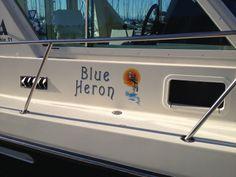 Blue Heron #boatname #31albin #seattle