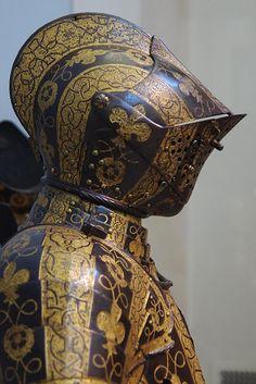 [S] The Battle of Alcácer Quibir Helmet Armor, Arm Armor, Suit Of Armor, Body Armor, Armadura Medieval, Knight In Shining Armor, Knight Armor, Medieval Knight, Medieval Armor