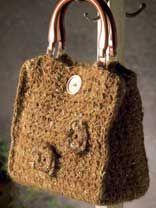 Moonlight Mohair Crochet Purse Pattern