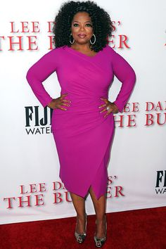 Oprah, The Butler, - Plus size curvy red carpet dress celebrity fashion Oprah Winfrey, Indian Hairstyles, Straight Hairstyles, Celebrity Dresses, Celebrity Style, Up The Movie, Divas, Afro, Outfits Mujer