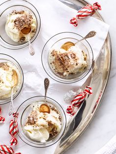 Trerättersmeny med fördrink – under 1 timme!   ELLE mat & vin Party Food And Drinks, Holidays And Events, Baking Recipes, Panna Cotta, Dinner Recipes, Appetizers, Menu, Ice Cream, Pudding