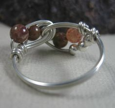 Jasper Wired Ring