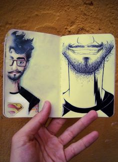 """""""Sketchbook ideas by Ricardo Lira,""""  Not a close up I would like to do, lol, but try out a close up!"""
