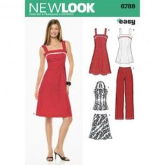 New Look Womens Dress, Tunic, Top, Trousers & Bias Skirt. 6789 (6,8,10,12,14,16) $5.35