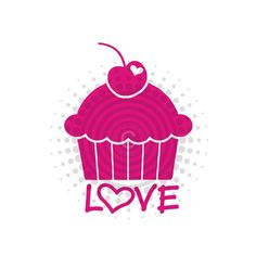 Buy ANY 2 Get 1 FREE  Cupcake Love  Vinyl Decal by gotdecalz