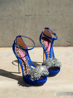 Betsy Johnson Bling Wedding Shoes #weddingshoes #blingbling