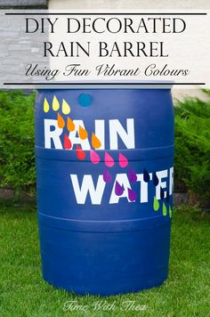 DIY Decorated Rain B