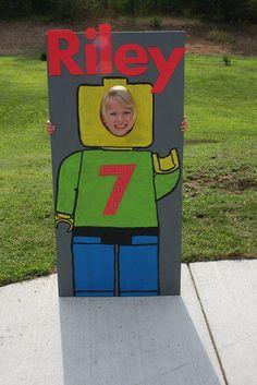 Lego photo op