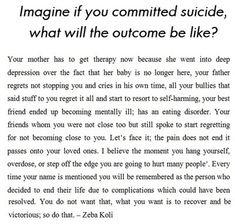dont commit suicide quotes | Dont Commit Suicide Quotes. QuotesGram