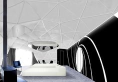 In December 2017, Whitepod will launch three uniquely-themed Pod Suites, each with their own private sauna. The