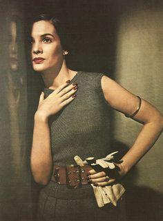 Louise Dahl-Wolfe photo for Harper's Bazaar, 1949