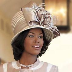 Africian Americans in Hats on Pinterest   Church Hats, Women ...