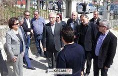 Φωτογραφίες από την επίσκεψη του Υπουργού Παιδείας Κώστα Γαβρόγλου στη Φλώρινα