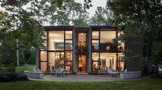 Louis Kahn-Louis Kahn's Margaret Esherick House Wins National Modernism Award - Curbed Philly philly. Louis Kahn, Lebbeus Woods, Norman Foster, Esherick House, Architect Magazine, Architect House, Mid Century Design, Prefab, Midcentury Modern