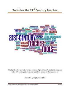 Tools for the 21st Century Teacher