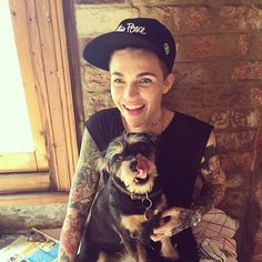 Ruby Rose's Dog Instagrams Will Make You Fall (Even More) in Love