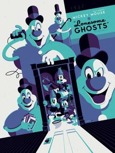 This is my favorite Disney short and this poster is a billion shades of awesome!