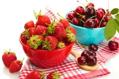 Should I eat strawberries or cherries?