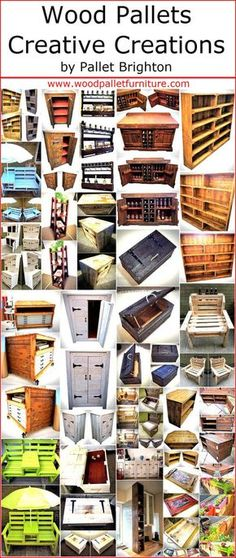Not every person is blessed with the creative mind, but those who have the skills and creativity should never hesitate to show it to others and share the ideas for the benefit of people. There are some materials which are easy to modify just like the wood pallets and a person can reshape them into anything with the imagination that comes to his/her mind. So, here we are going to present some creative wooden pallet creations by pallet Brighton that you will surely love to copy for your home…