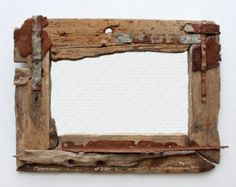 Driftwood Mirror, 120 cm wide x 100 cm high (outside measurement)