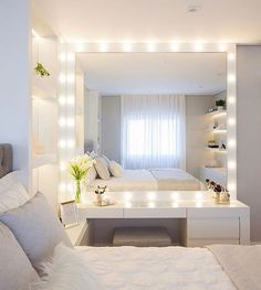 Teen Bedroom Decor Teenage Bedroom Sets, Teenage Bedroom Makeover, Teenage Bedroom Rules Do you think he or she will like it? Girl Bedroom Designs, Room Ideas Bedroom, Home Bedroom, Bedroom Decor Ideas For Teen Girls, Teen Bedrooms, Bedroom Inspo, Bedroom Teen Girls, Desk In Bedroom, Teen Bedroom Inspiration