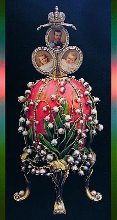 Imperial Jeweled Egg | FABERGE EGGS N OTHERS ***** …| Pinterest