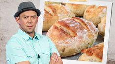Kuchyňský kouzelník Láďa Hruška si tentokrát připravil dobrotu pro každý den - vynikající domácí dalamánky. Základní surovinou jsou obyčejné brambory. Nova, Bread, Bakeries, Breads