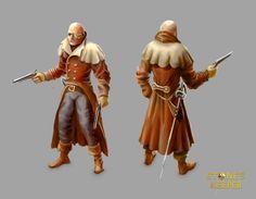 Ranger, character design for Stone's keeper